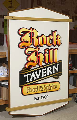 Rock Hill Tavern Fabrication