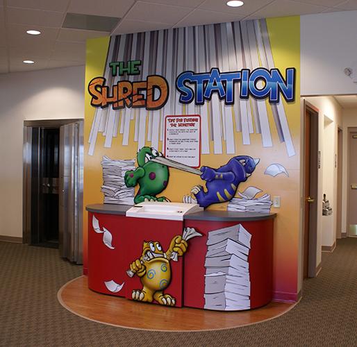 Shred Station