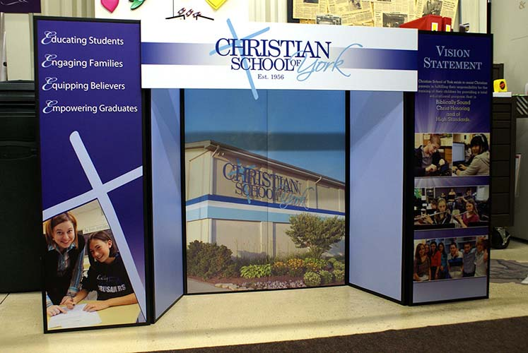 Christian School of York Exhibit