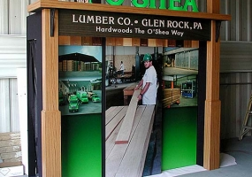 O'Shea Lumber Company Display