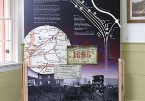Gettysburg Station Display