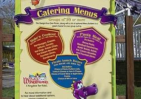Dutch Wonderland Catering Service Signage