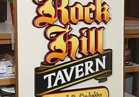 Rock Hill Tavern Sign