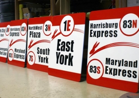Rabbit Transit Signs