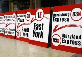 Rabbit Transit Signs