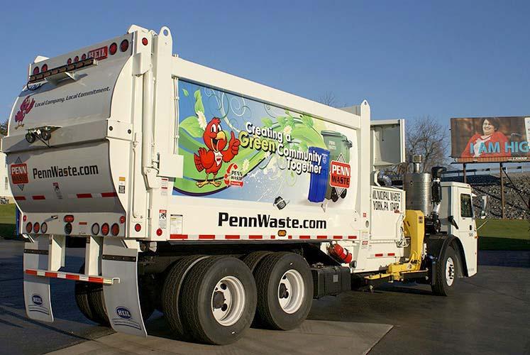 Penn Waste White Wrap